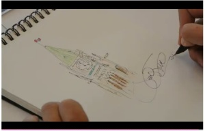 Justin Trudeau Hypothetical Tattoo Sketch copy