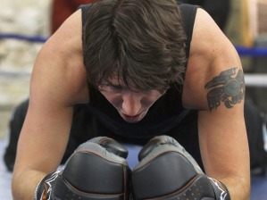Local Input~ Federal Liberal leadership candidate Justin Trudeau works out hard Friday night doing a boxing work out session at the Pan Am Boxing Club ñ He will take place in a leadership candidate debate at 1 p.m. at the Metropolitan Theatre in Winnipeg Saturday afternoon.- February 01, 2013 (JOE BRYKSA / WINNIPEG FREE PRESS)